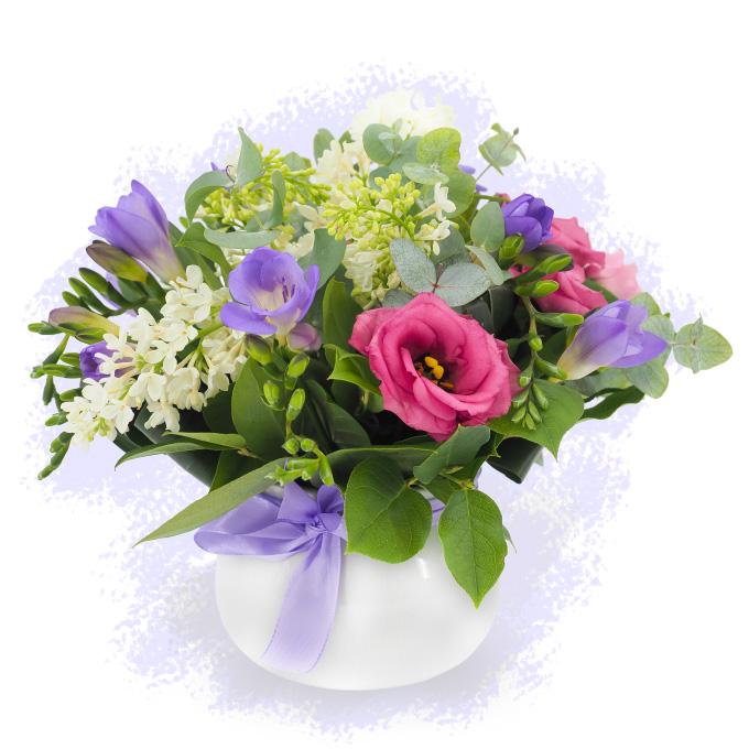 Aranjament floral simplu