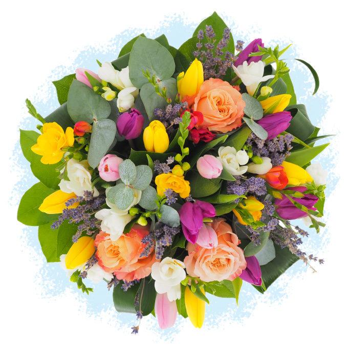 """Buchet de flori """"Primăvară eternă"""""""